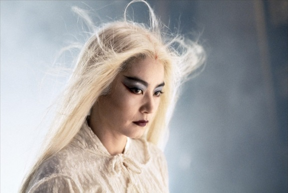 the bride with white hair (1)